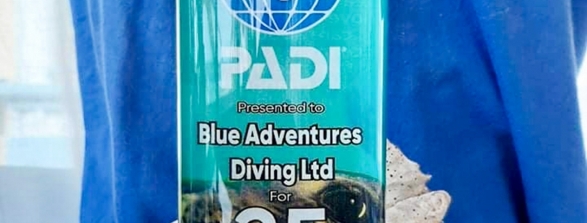 padi - blue adventures diving & snorkeling Chania